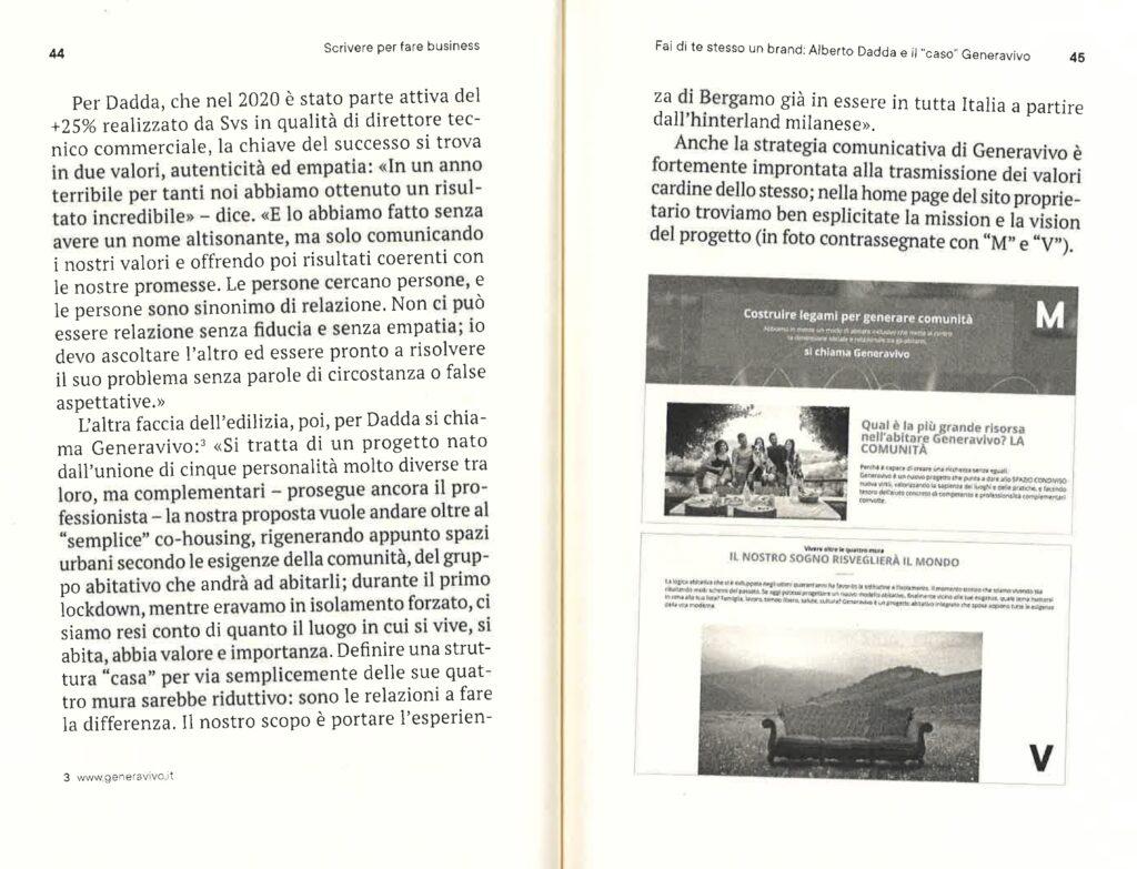 Pagine 44 e 45 Scrivere per fare business