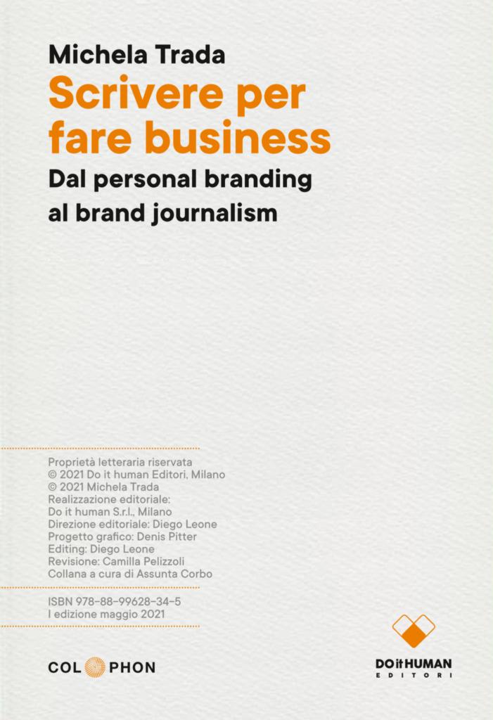 Cover Scrivere per fare business